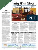 The Daily Tar Heel for Feb. 24, 2016