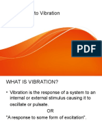 Introduction to Vibrations