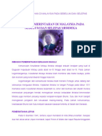 Sistem Pemerintahan Di Malaysia Sebelum Dan Selepas Merdeka