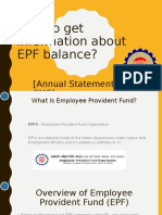 How to Check EPF Balance Online