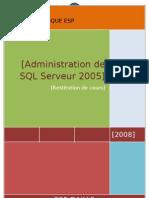 Restitution de Oumar Mbaye SQL Serveur 2005
