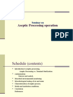 Aseptic Processing Operation