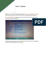 Tutorial Install Windows 7(1)