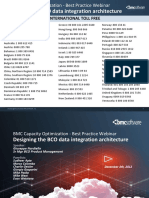 BCO Best Practice Webinars - Designing the BCO Data Integration Architecture