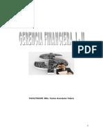 Gerencia Financiera Dossier