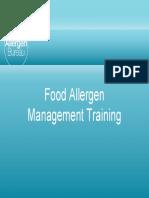 Allergen Awareness Training Presentation 0107