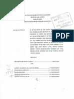 Full Anne Waiguru Affidavit Plus Adan Harakhe Memo to Waiguru