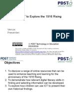 using ict to explore the 1916 rising  1