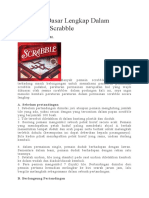 Peraturan Dasar Lengkap Dalam Permainan Scrabble