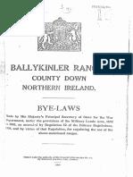 Ballykinler Ranges ARMY