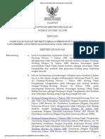 Peraturan Menteri Keuangan Nomor 253 Th 2008