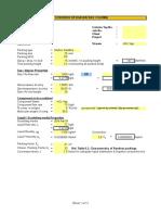 Scrubber Design Sheet