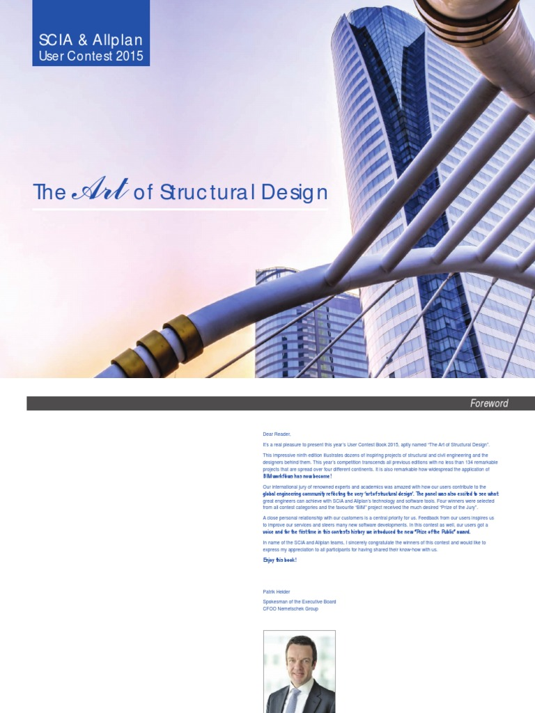 The Art of Structural Design User Contest 2015 | Building Information  Modeling | Engineering