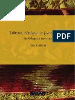 Diderot, Seneque Et Jean-Jacques, Un Dialogue a Trois Voix - Rodopi