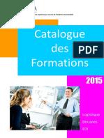 Catalogue Formations GALIA 2015