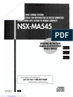 manual aiwa cx-nma545
