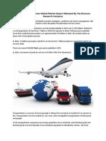 Transportation Services Global Market Press Release Report