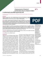 terapi Vitamin D Pnemonia