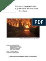 Nuevas Técnicas en Prevención, Detección y Extinción de Incendios Forestales