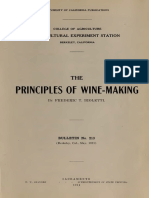 The Principles of Wine Making - Frederic T. Bioletti