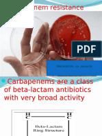 Carbapenem Resistance