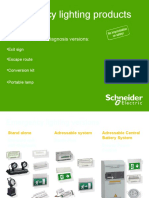 Emergency Lighting Products - Schneider Electric