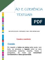 Func.lingua - Coesao e Coerencia Textuais