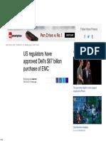 US Regulators Have Approved Dell's