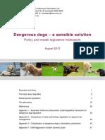 Dangerous Dogs - A Sensible Solution FINAL
