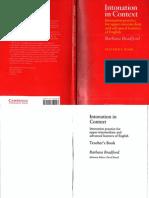 Intonation in Context Teacher's book