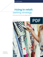 Pricing in Retail Setting Strategy