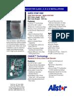 Allstar GSX 1000 Sliding Gate Opener Spec Sheet