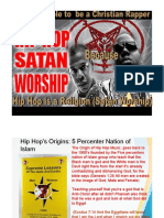 Hip Hop is Satan Worship