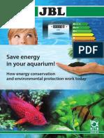 JBL Folder Save Energy in Your Aquarium En