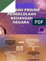 Asas Dan Prinsip Pengelolaan Keuangan Negara