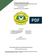 Laporan Praktikum (Asidimetri Dan Alkalimetri)