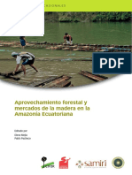 Aprovechamiento Madera Amazonia Ecuador