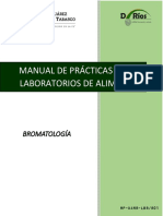 Manual de Laboratorio de Alimentos