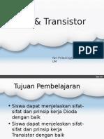 dioda + transistor