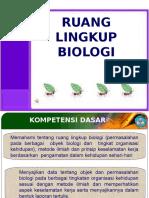 1. Ruang Lingkup Biologi