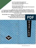 Manual Camara Agfa Optima 500