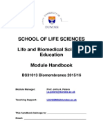 BS31013 Biomembranes Handbook 2015-2016_docx