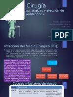 infecciones del foco quirurgico de schwartz