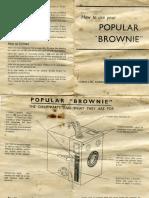 Manual Camara Brownie Popular