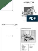 ARTROMOT-K3 Operation Manual