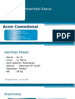 Case Acne Comedonal