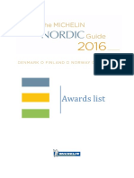 Michelin Nordic Guide 2016