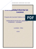 Perfil Plaza Ccontacc