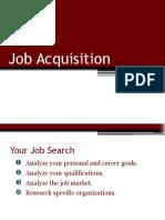 be notes-unit 13 job acquistion
