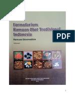 Formularium Ramuan Obat Tradisional Indo